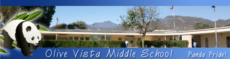 Olive Vista Middle School  Logo